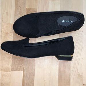 Torrid Black Faux Loafers